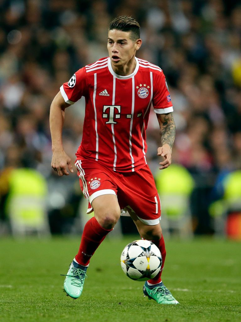 James Rodriguez Of Bayern Munchen During The Uefa Champions League James Rodriguez Uefa Champions League Bayern