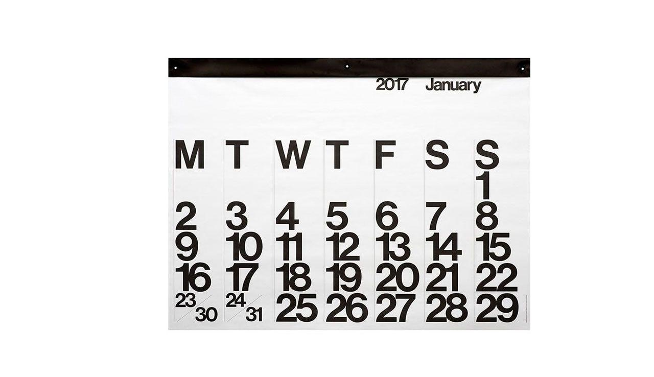 20 Modern Calendars For 2017 Calendar Calendar 2017 Decorating
