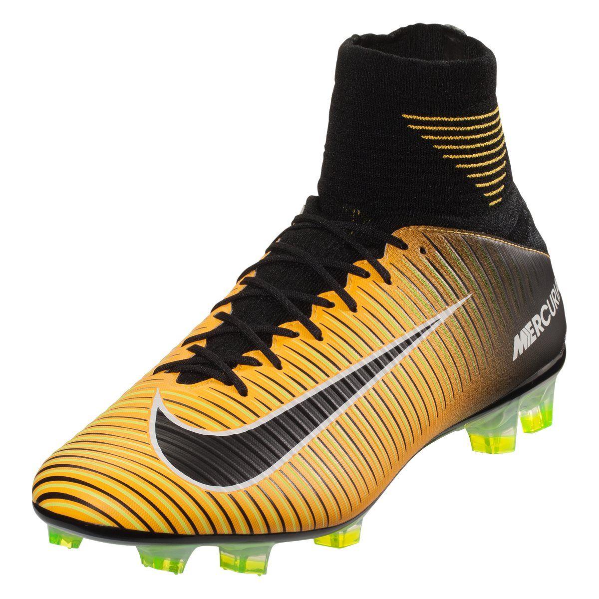 Nike Mercurial FG Superfly V FG Mercurial Soccer Cleat Laser Orange/Blanc/Noir 4282ec