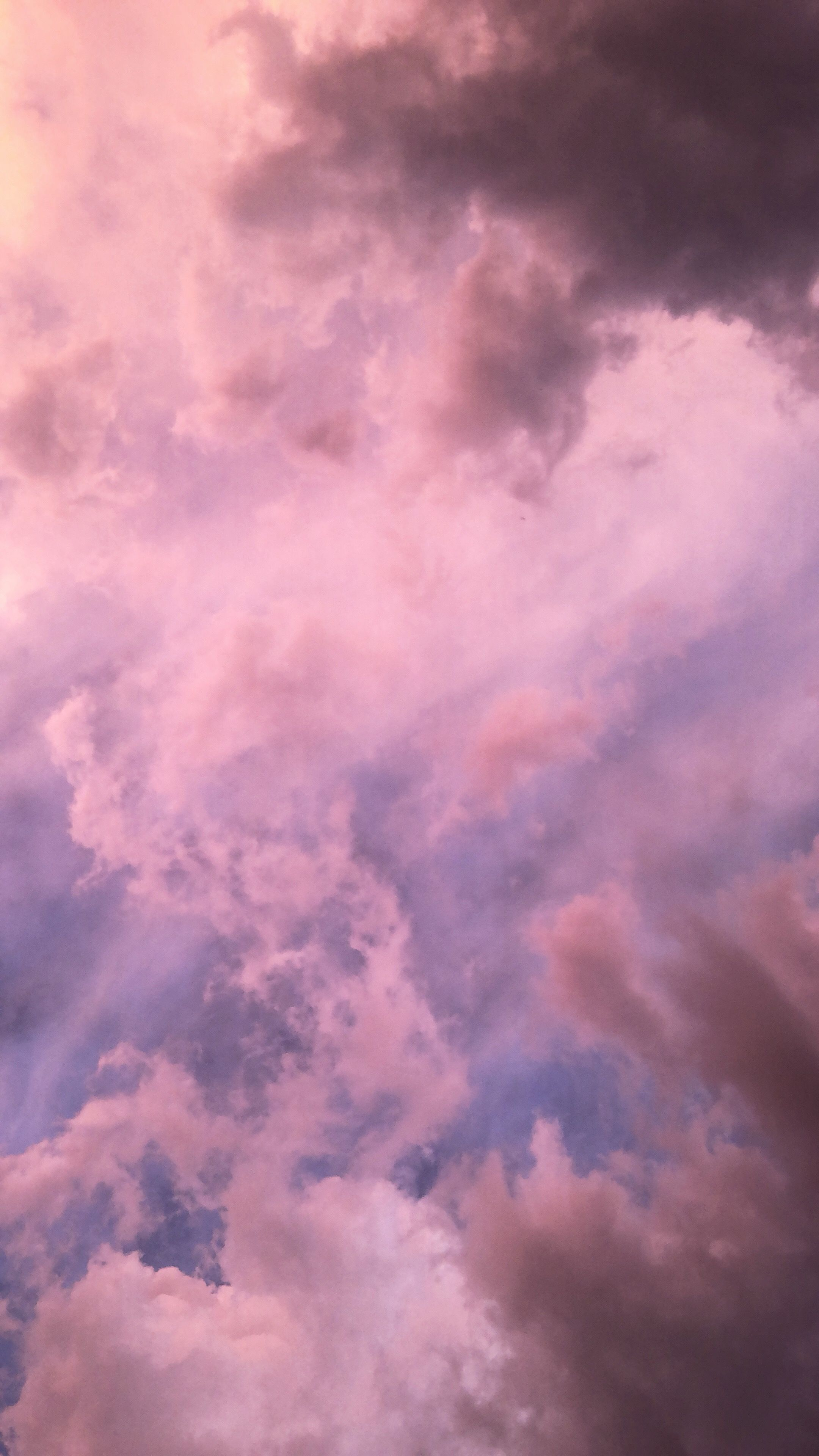 Aesthetic Pastel Purple Sky