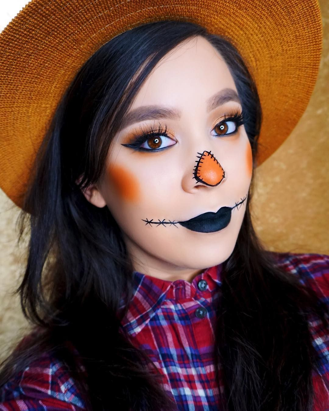 This scarecrow makeup is such a fun idea for an easy, last-minute Halloween costume! #scarecrowmakeup This scarecrow makeup is such a fun idea for an easy, last-minute Halloween costume! #scarecrowmakeup This scarecrow makeup is such a fun idea for an easy, last-minute Halloween costume! #scarecrowmakeup This scarecrow makeup is such a fun idea for an easy, last-minute Halloween costume! #scarecrowcostumediy