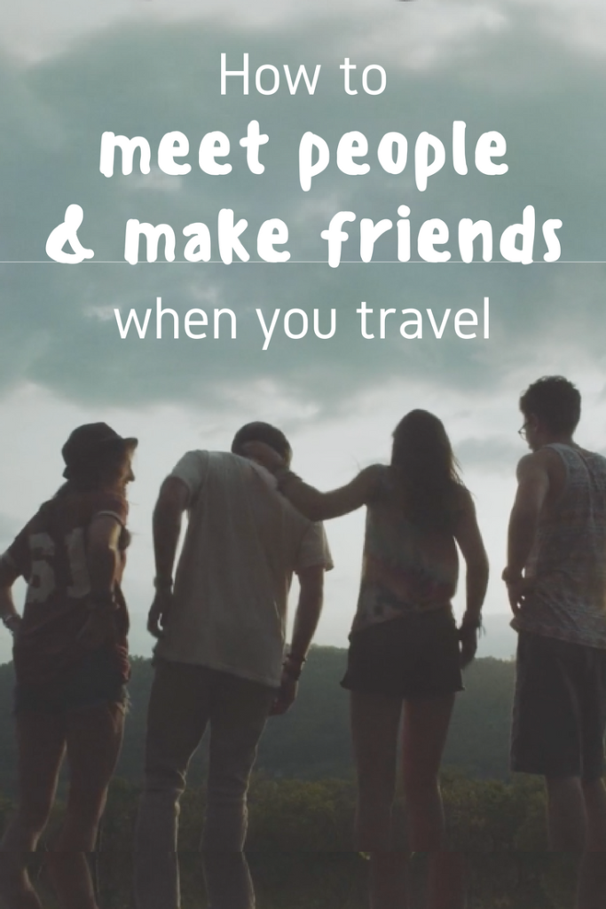 where to meet people and make friends