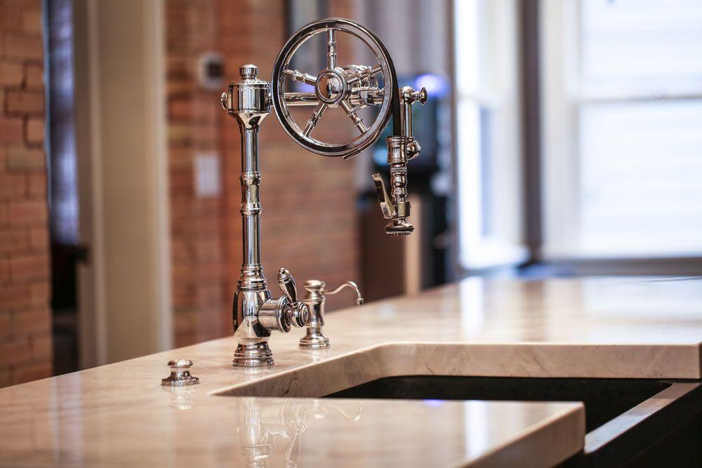 Waterstone Wheel Pulldown Facuet 5100 Kitchen Faucet Design