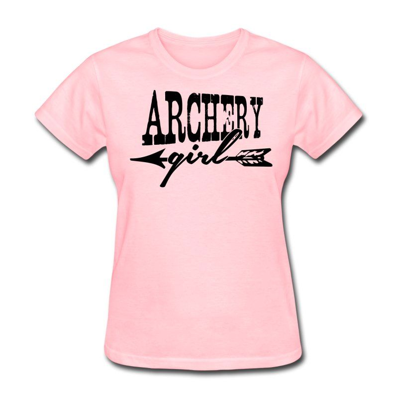 Archery Girl Women\'s T-Shirt - white | Archery