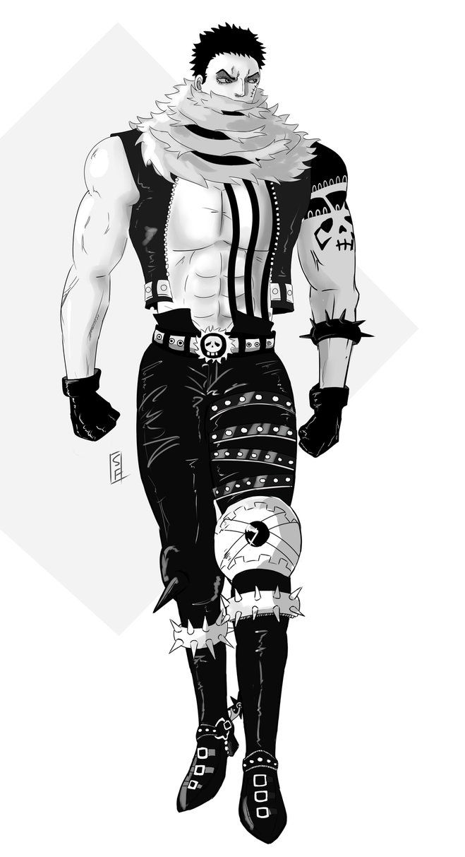 Big Mom pirates Sweet Commander Katakuri from One Piece. The urge to do fanart became too strong ...