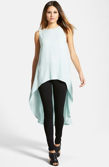 aedba867c67 Eileen Fisher Sleeveless Silk High Low Tunic (Regular   Petite) (Online  Only) available at  Nordstrom