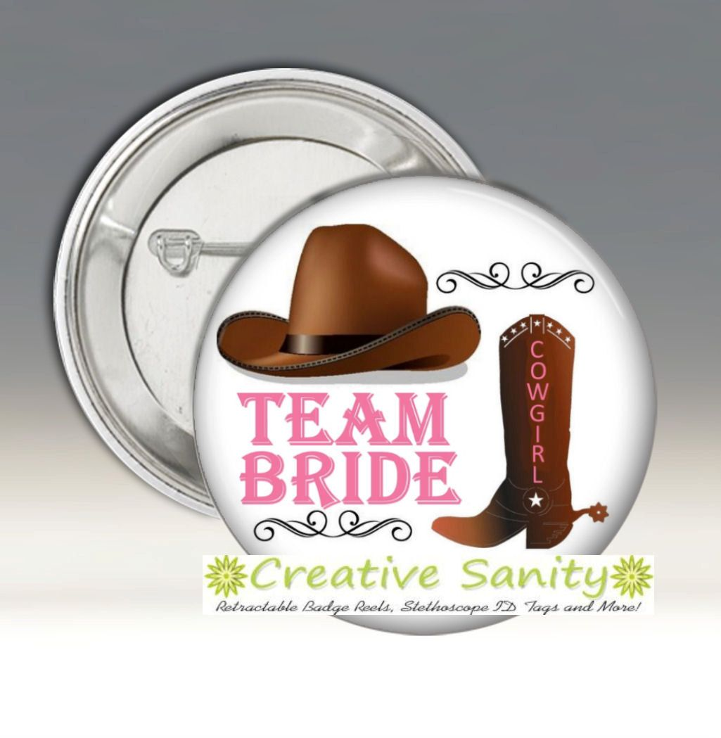 Country Western Theme Team Bride, Western Theme Bridal P… | Bo\'s ...