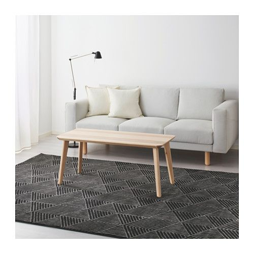 STENLILLE Rug, Low Pile, Gray