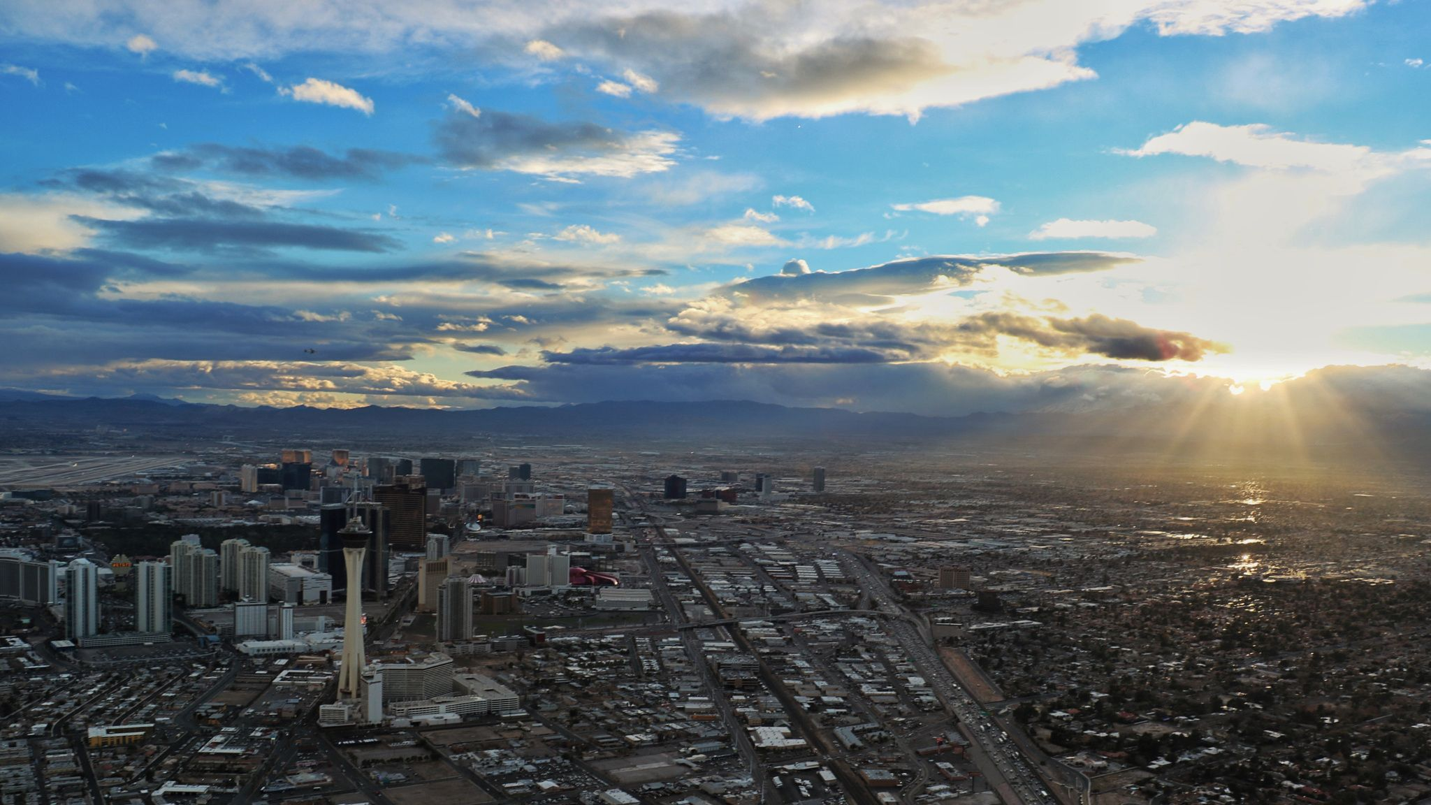 Las Vegas at Sunset - Las Vegas at Sunset