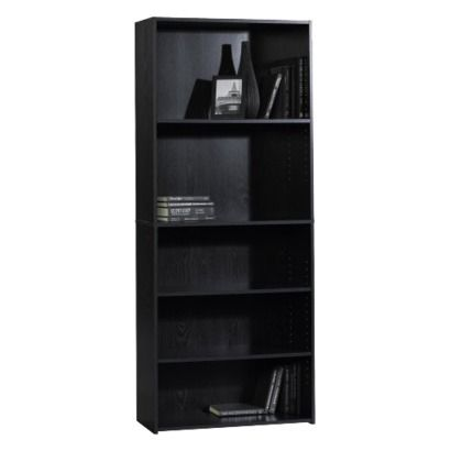Room Essentials 5 Shelf Bookcase Black 5 Shelf Bookcase