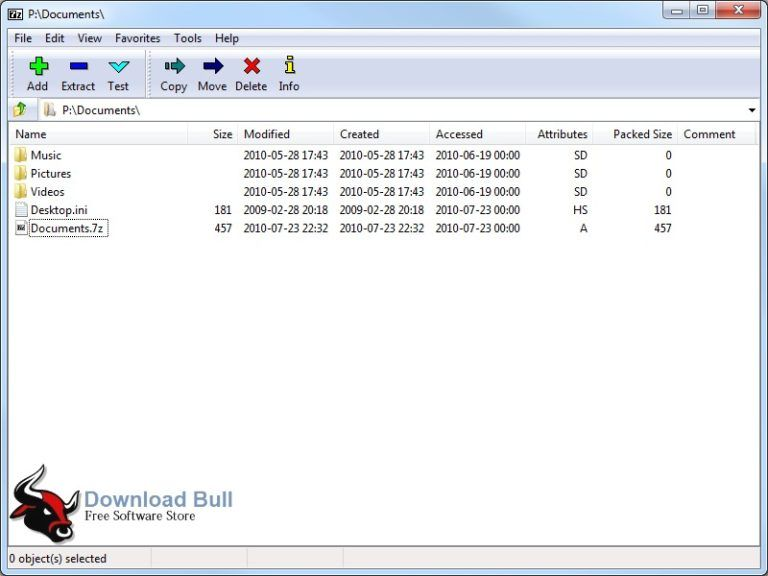 7Zip 16.04 Free Download For Window App, Algorithm