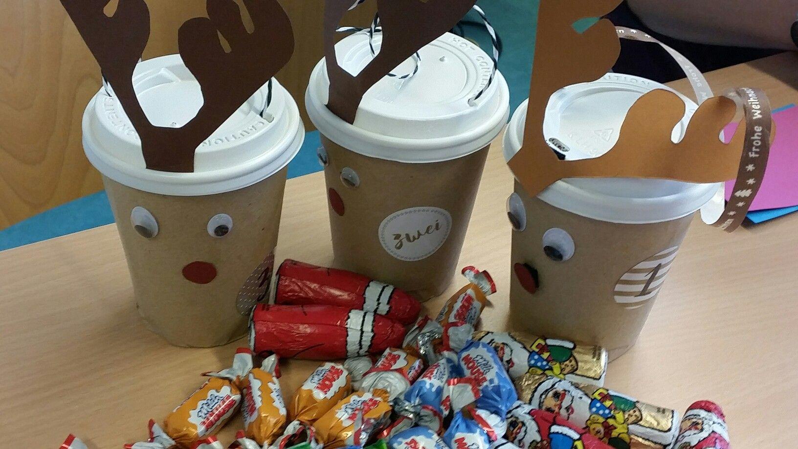 Adventskalender Aus Kaffeebechern
