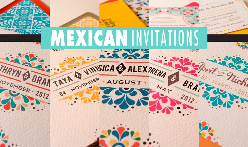 Vintage Inspired Mexican Wedding Wedding Invitations Free Samples - Wedding invitation templates: mexican wedding invitations templates