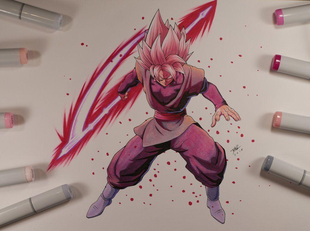 Goku Black Dragon Ball Fighterz By Mahnsterart Goku Black Black Dragon Dragon Ball
