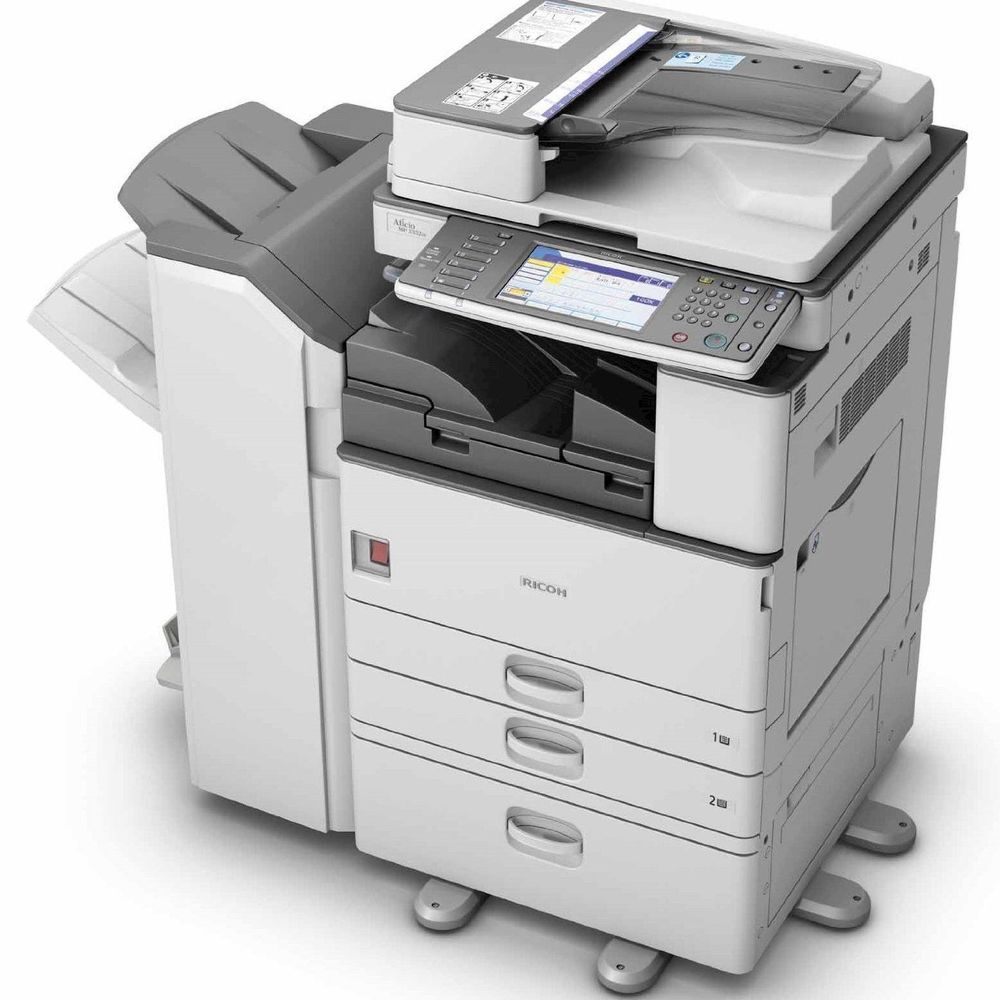 Ricoh Aficio MP C3300 Multifunction RPCS Vista