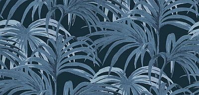 Palmeral Midnight/Azure wallpaper by House Of Hackney
