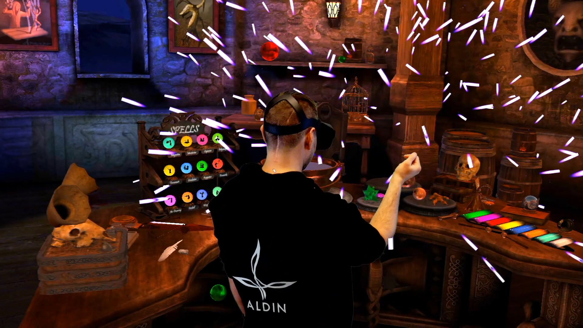 News Oculus Waltz Of The Wizard Experiments With Hand