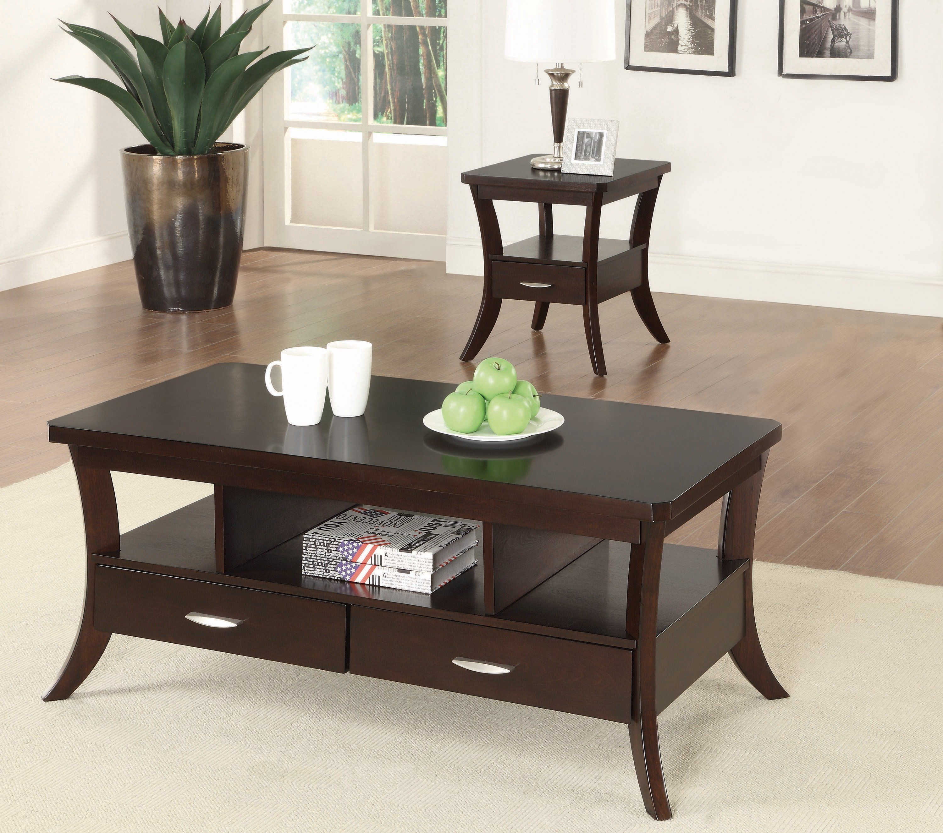 Flared Occasional Collection In 2021 Home Coffee Tables Coffee Table Coffee Table Setting [ 2652 x 3000 Pixel ]