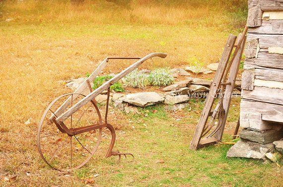 Rustic Farm Wall Art, Farmhouse Decor, Grandmas John Deere, Large ...