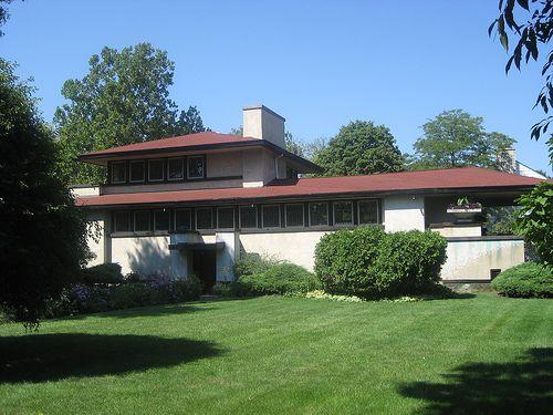 Ferdinand Tomek House 1905 By Frank Lloyd Wright Architecture