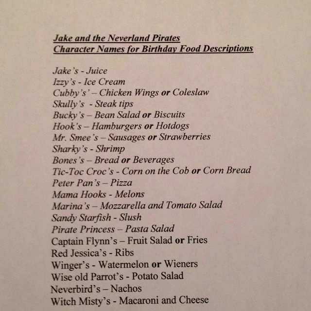 Dinner Party Name Ideas Part - 25: Food Name