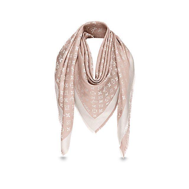 fe4d93e2dba8 Écharpes et foulards Collection pour FEMME   LOUIS VUITTON   Chic ...