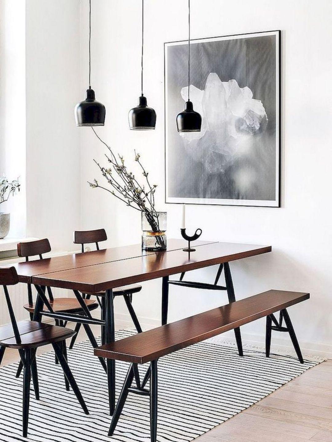 The Best 11 Cozy Minimalist Dining Room Designs In Scandinavian