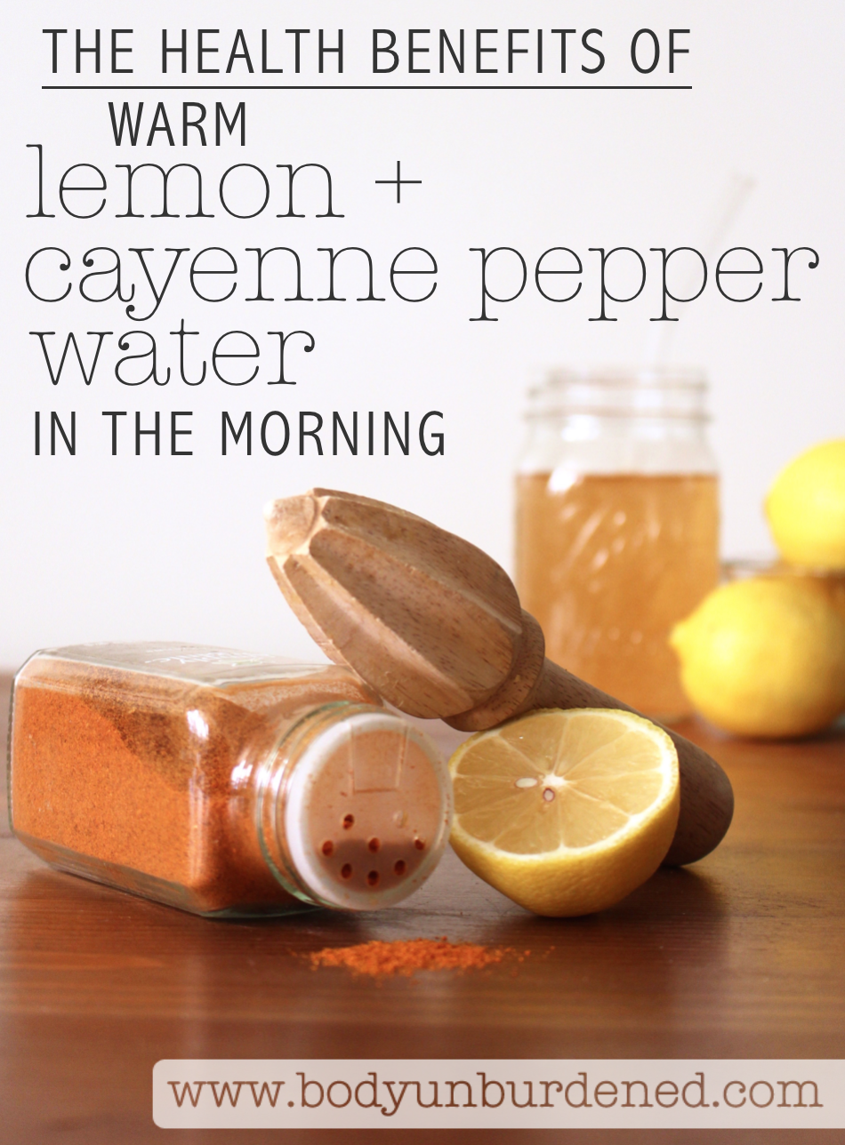 The Health Benefits Of Warm Lemon And Cayenne Pepper Water Our