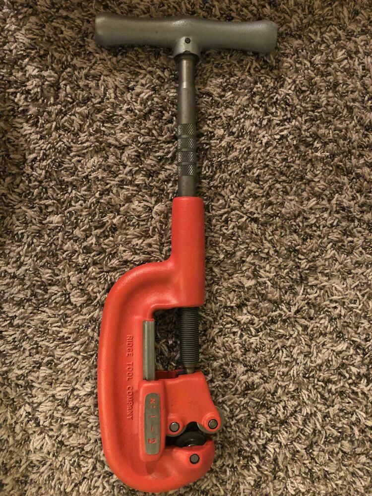 Pin On Ridgid Wide Roll Pipe Cutter 2a 202