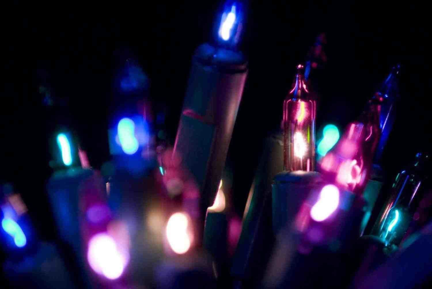 New Post Vintage Christmas Lights Tumblr Background