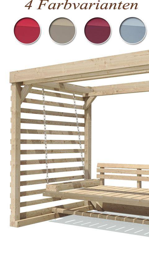 details zu hollywoodschaukel tiffany holz gartenschaukel. Black Bedroom Furniture Sets. Home Design Ideas