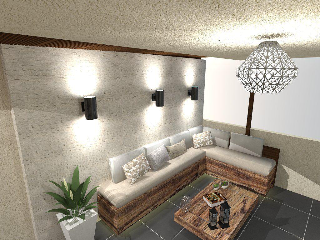 Iluminación Y Diseño Interior Para Terraza Diseño De