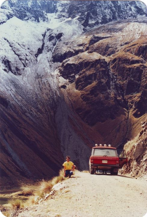 Gimme my mountain, gimme my land rover