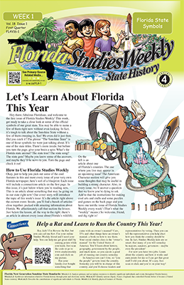 Florida Studies Weekly - State History | 4th Grade Social