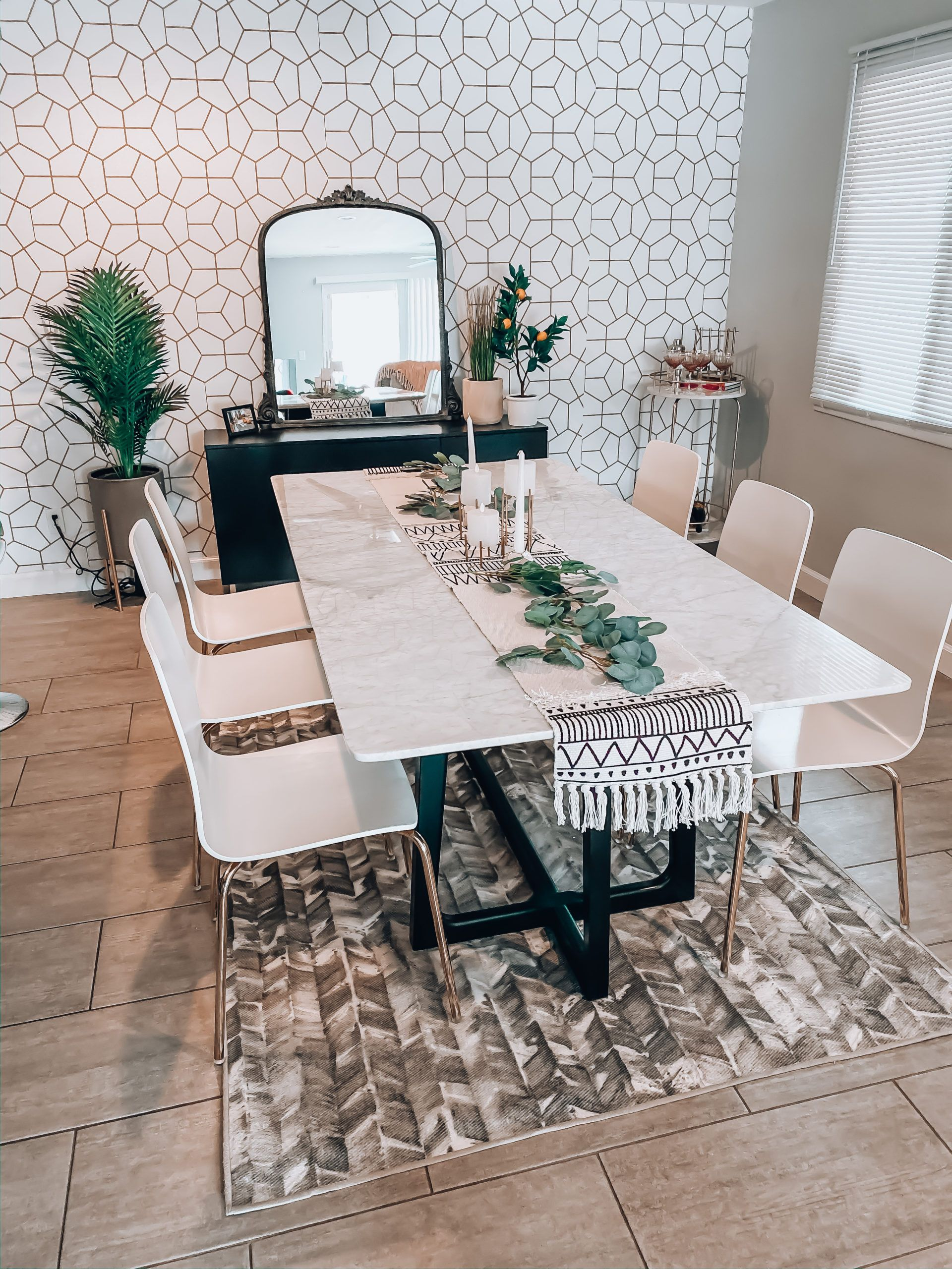 Dining Room Re Design Reveal In 2020 Dining Room Inspiration