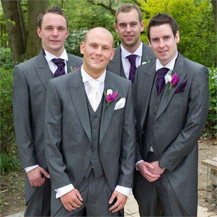 Vikki Chris S Real Wedding The Grooms Party