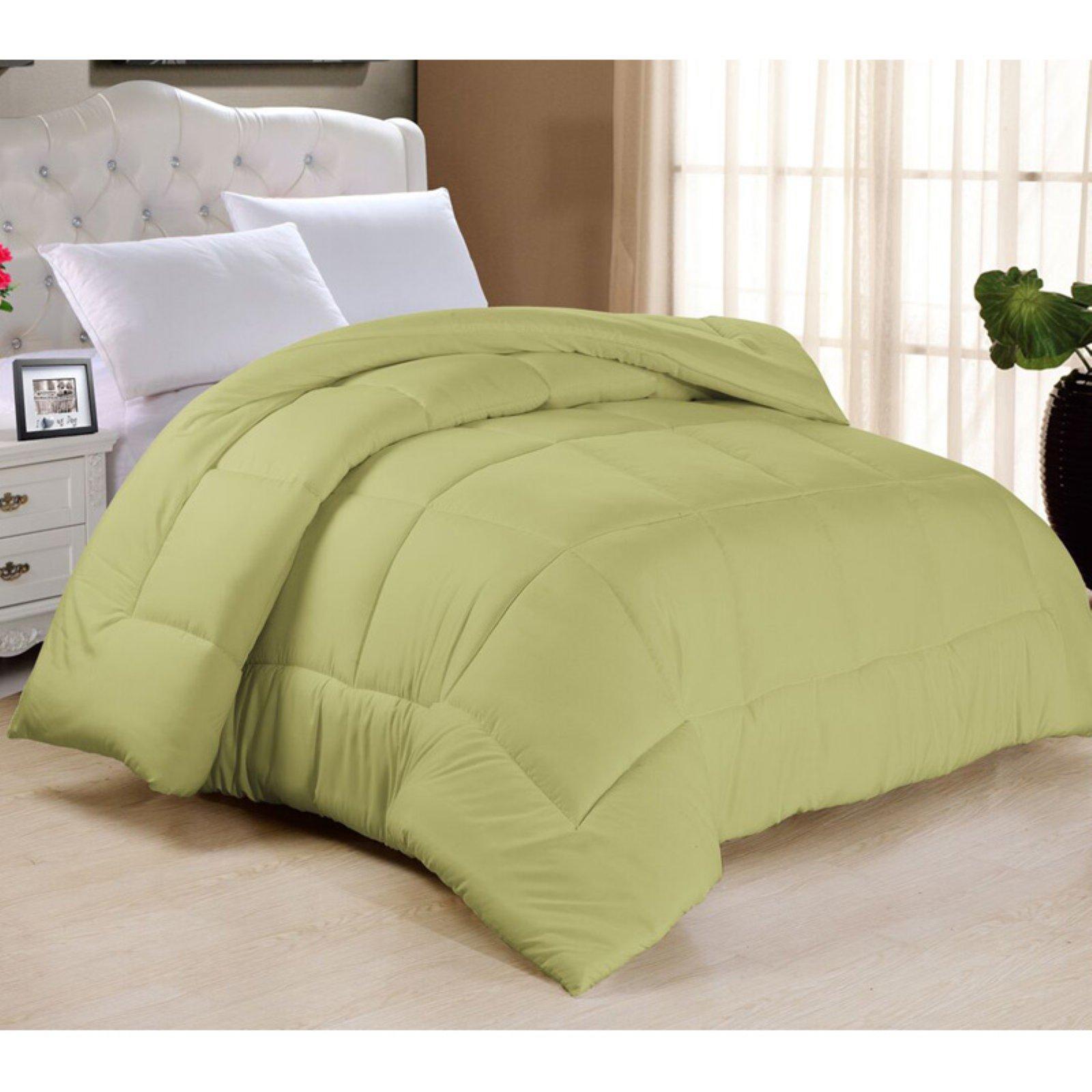 Plush Soft All Season Down Alternative Comforter Sage King//California King