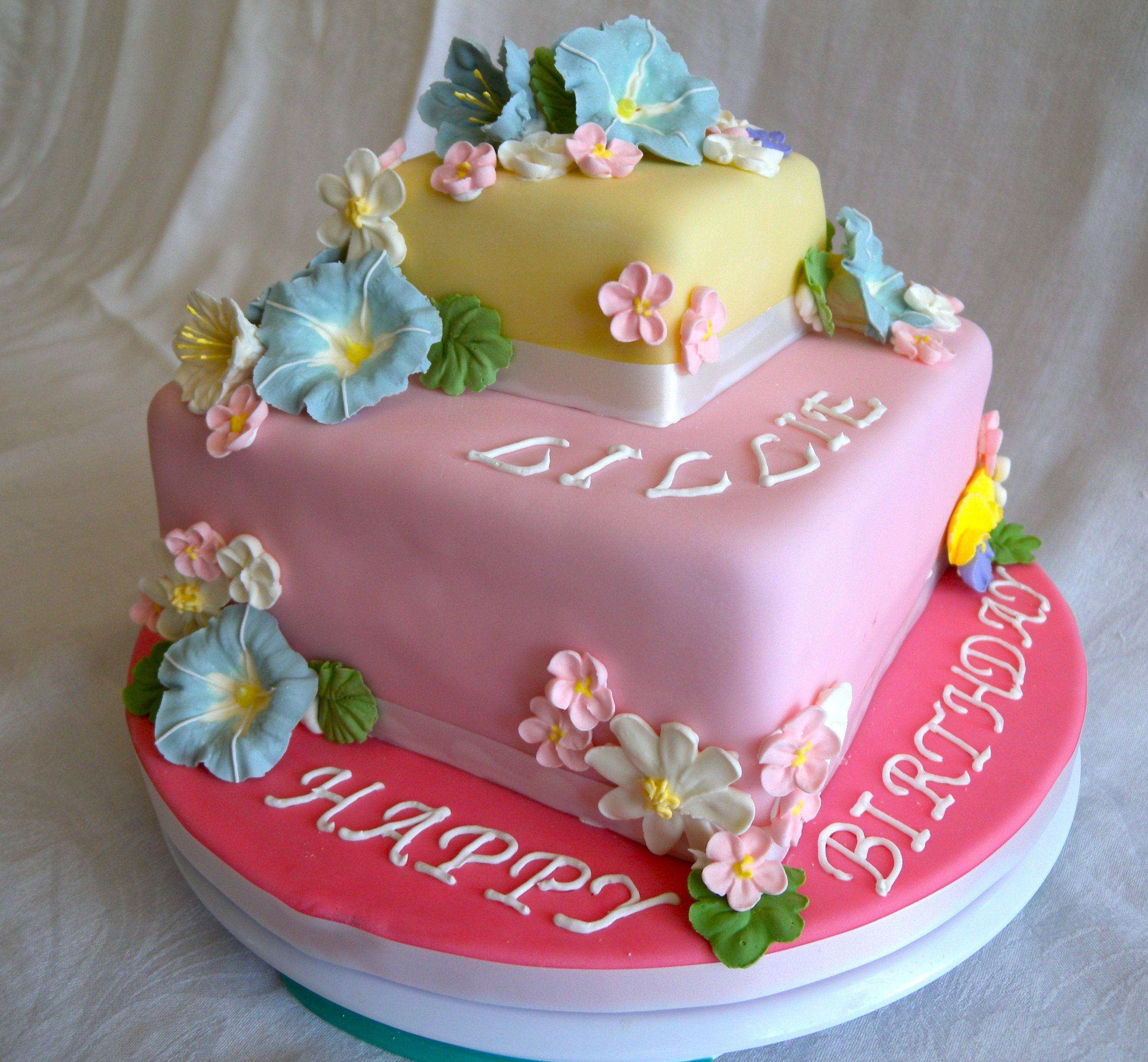 Spring Birthday Cake Cake Ideas Pinterest Birthday Cakes Cake