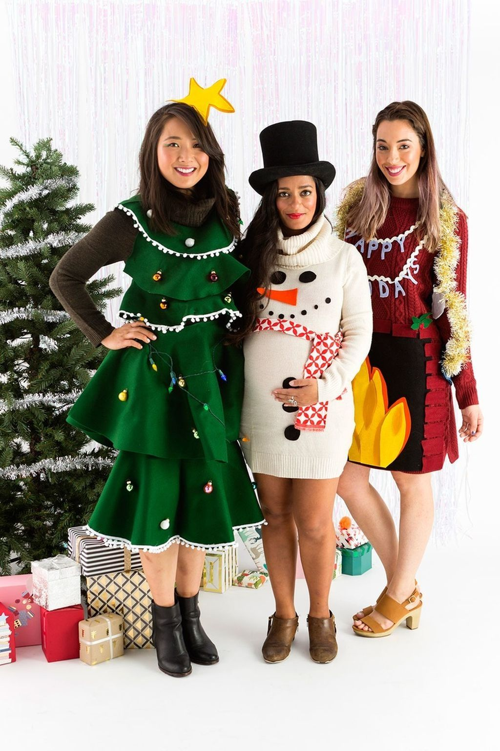 Tacky Christmas Party Outfit Ideas Part - 28: 52 Elegant Winter Fashion Ideas Suitable For Christmas Party