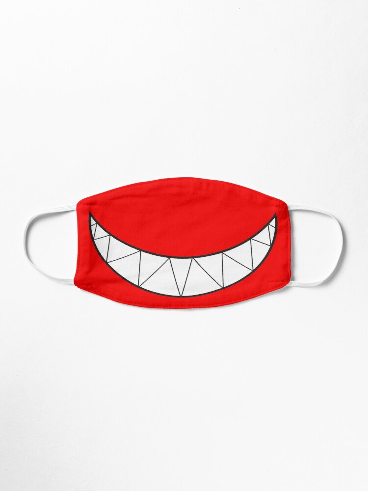 Funny Creepy Smiling Mouth With Sharp Teeth Mask By Bill Shearer Sharp Teeth Creepy Masks Creepy
