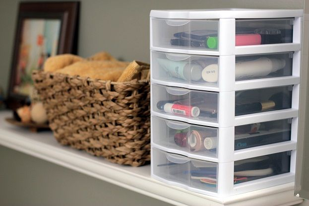 29 Cool Makeup Storage Ideas For Small Spaces Makeup Storage Shelves Makeup Storage Drawers Small Storage