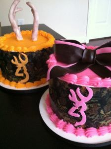 Wish my husband had pinterest so he can get me this pink cake for my