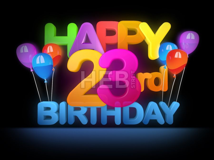 Happy 23rd Birthday Title Dark Geburtstagsbilder 41