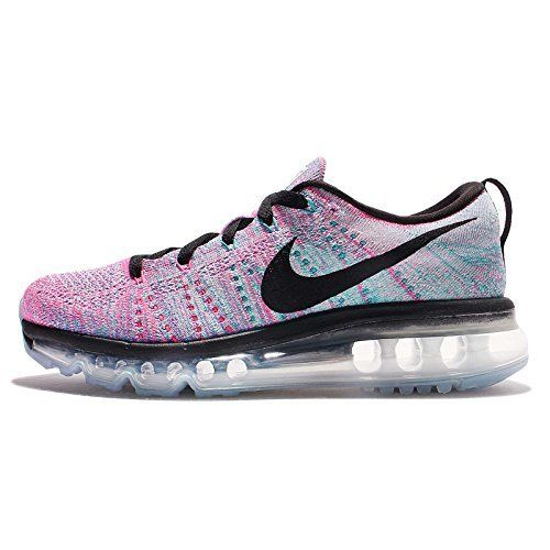 Nike Womens Wmns Flyknit Max WHITEBLACKCHLORINE BLUEPINK BLAST 9 M US      To view further for this item 19cdc0b6a