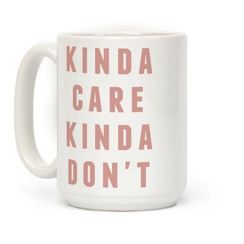 To give a shit, or not to give a shit, that is the question. Show that you're somewhere in the middle with this funny sassy mug.