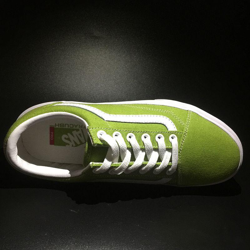 d9a2dcc9cd 2017 Four Seasons New VANS   OldSKool Low Men Men Canvas Casual Shoes Shoes  Apple Green XF 018 35-4320  Vans