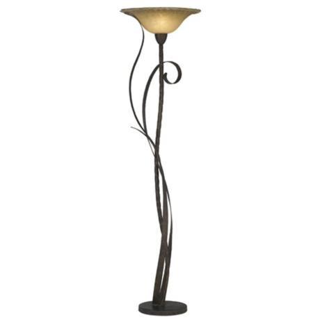 Kathy ireland vine torchiere floor lamp style 04227 torchiere kathy ireland vine torchiere floor lamp 04227 lamps plus aloadofball Choice Image