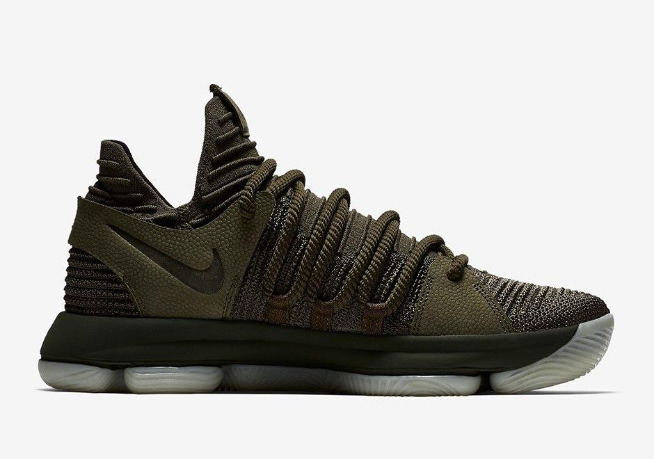 NikeLab Kevin Durant 10 Olive | Nike Shoes | Retro shoes