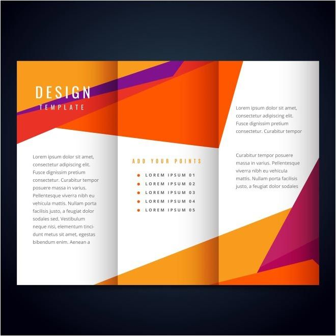 free vector Design Template brochure http\/\/wwwcgvector\/free - free booklet template word