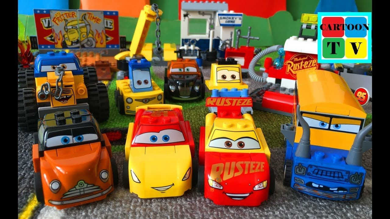 Cars 3 Disney Pixar Lego Juniors Lightning McQueen Cruz